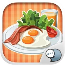 Food & Drink Emoji Photo Stickers Themes ChatStick