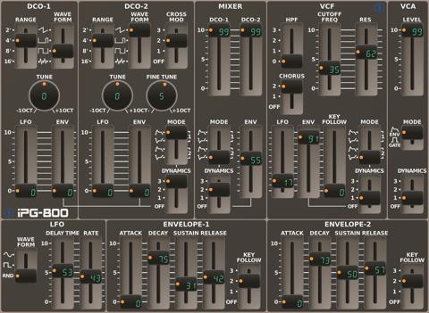 iPG-800 - náhled