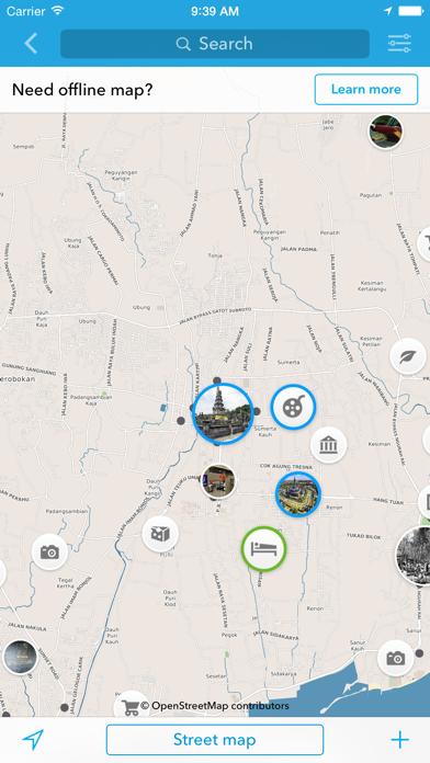 Screenshot of Bali - Mappa offline e guida della città2