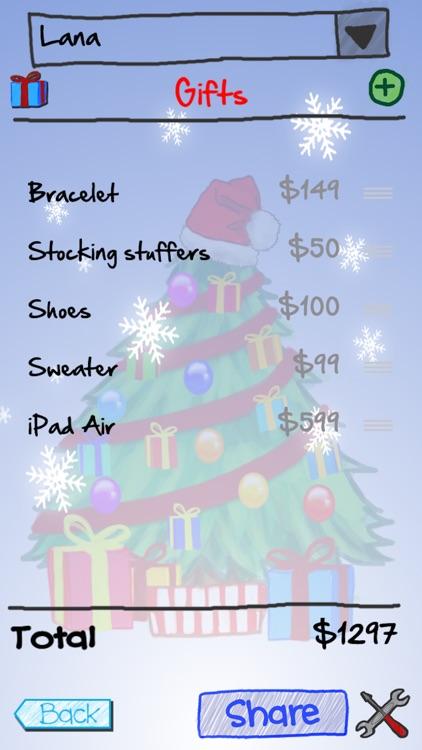 Gift It - Christmas Shopping List & Countdown App! app image
