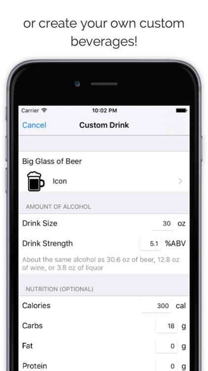 Drunkalyzer - Blood Alcohol Content estimator