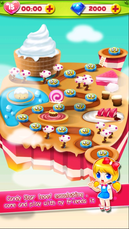 Sugar Land- Jelly of King Candy Games screenshot-3