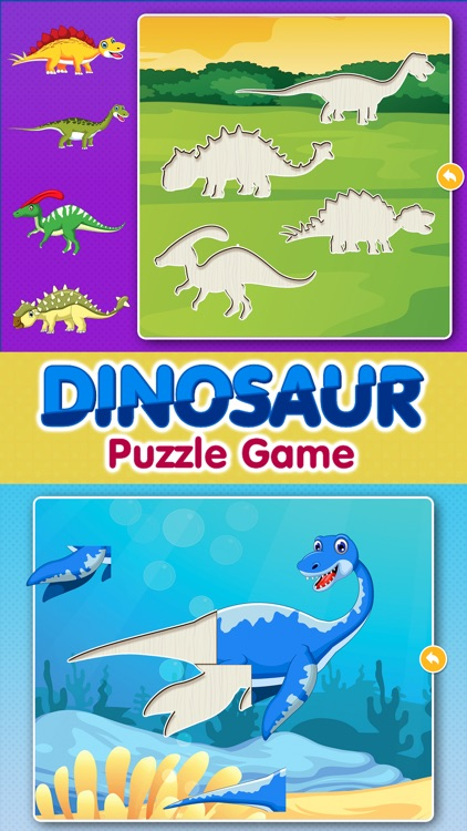 Dinosaur Games: Puzzle for Kids & Toddlers by Irina Belikova