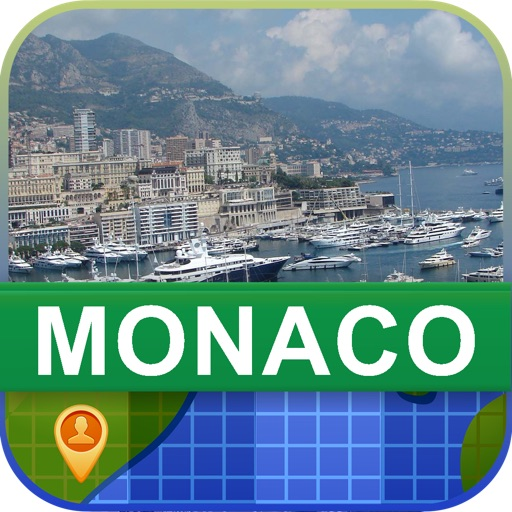 Offline Monaco Map - World Offline Maps