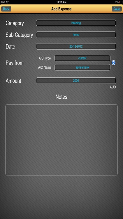 Budget Sheet Manager screenshot-1