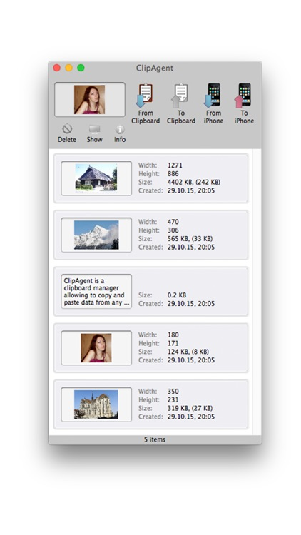 ClipAgent (clipboard manager) screenshot-4