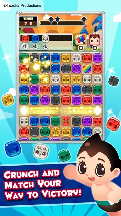 Tezuka World: Astro Crunch - Free Match 3 Game screenshot-0
