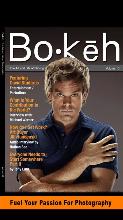 Bokeh Digital Photography Magazine Business Tips screenshot-3