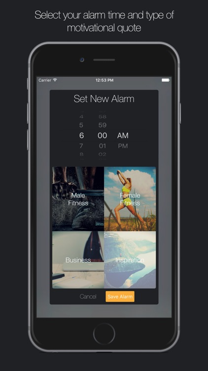getup - Motivational Alarm Clock