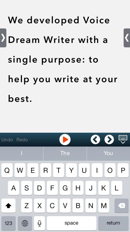 Voice Dream Writer