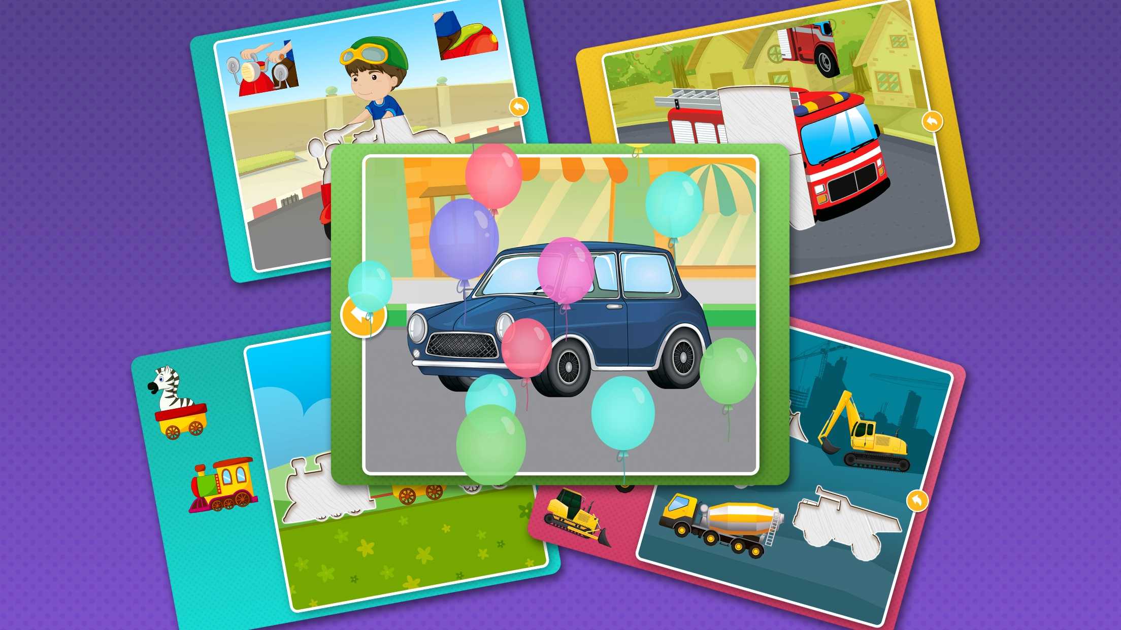 Animal Puzzle Games: Kids & Toddlers Learning Free Screenshot