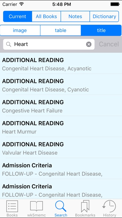 Rosen &Barkin's 5-Minute Emergency Medicine Consult Standard Edition, 5th Edition screenshot-3