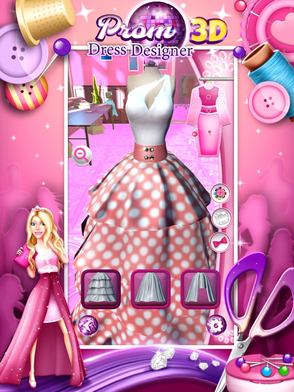 Prom Dress Designer 3d Fashion Studio For Girls Online Game Hack And Cheat Gehack Com