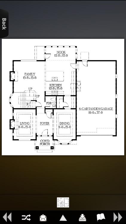 House Plans - Craftsman screenshot-4