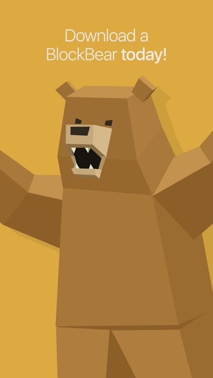 BlockBear: Block Ads, Protect Privacy With a Bear screenshot-3