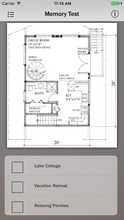 Vacation House Plans Info screenshot-3