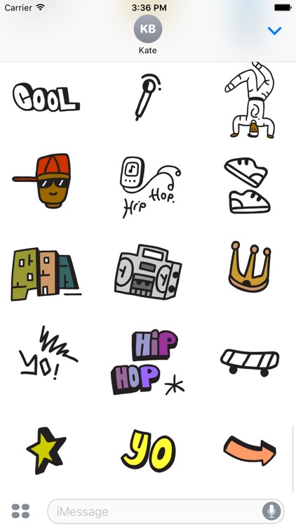 Urban Stickers screenshot-3
