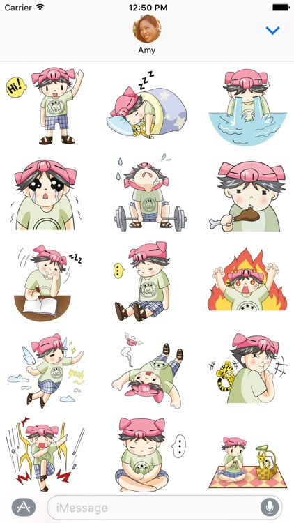 Piggy Boy – Chibi Character