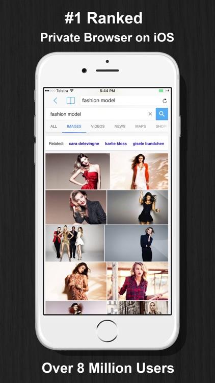 Private Browsing Web Browser screenshot-0