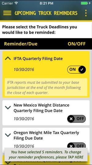RoadMinders-Reminder Alerts for OOIDA Members on the App Store