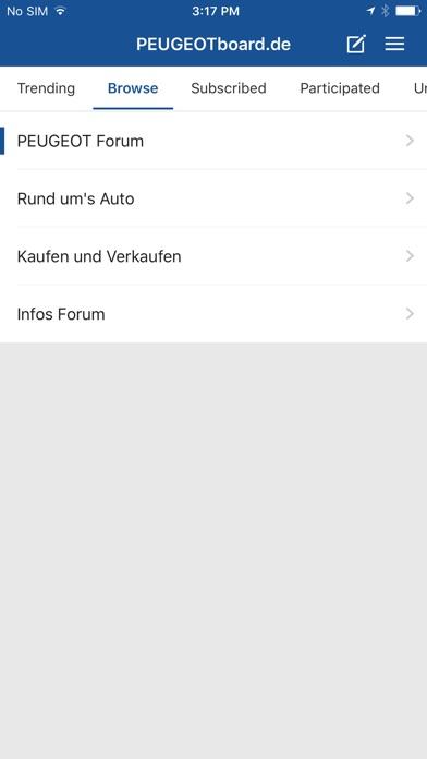 Peugeotboard - Das Peugeot-ForumScreenshot von 3