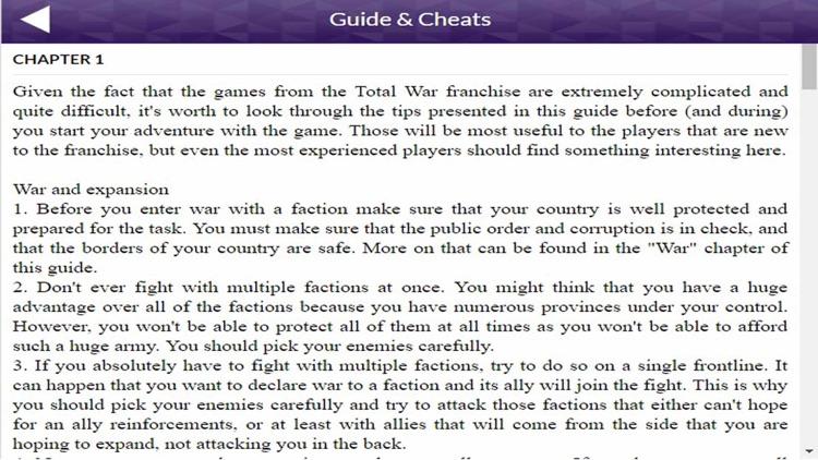 PRO - Total War Warhammer Game Version Guide