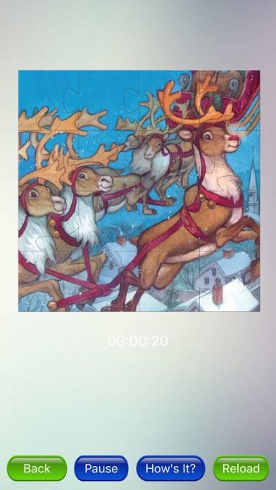 Christmas Jigsaw Puzzles - New year screenshot one