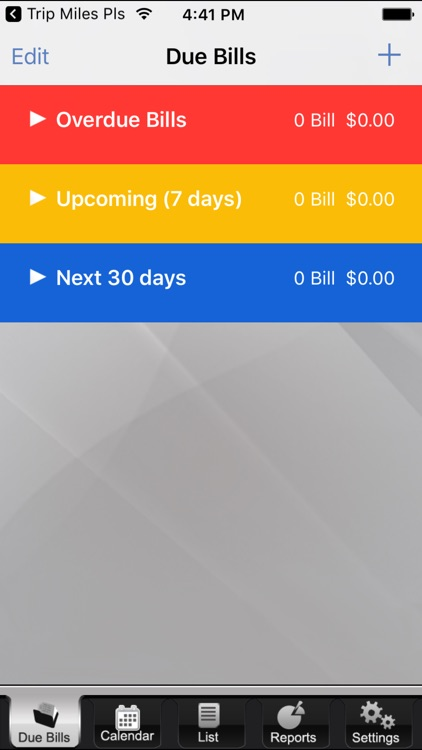 The Bills App - Bill Reminder and Tracker