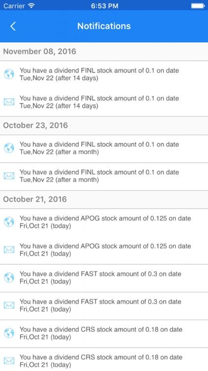 Dividend Tracker screenshot-4
