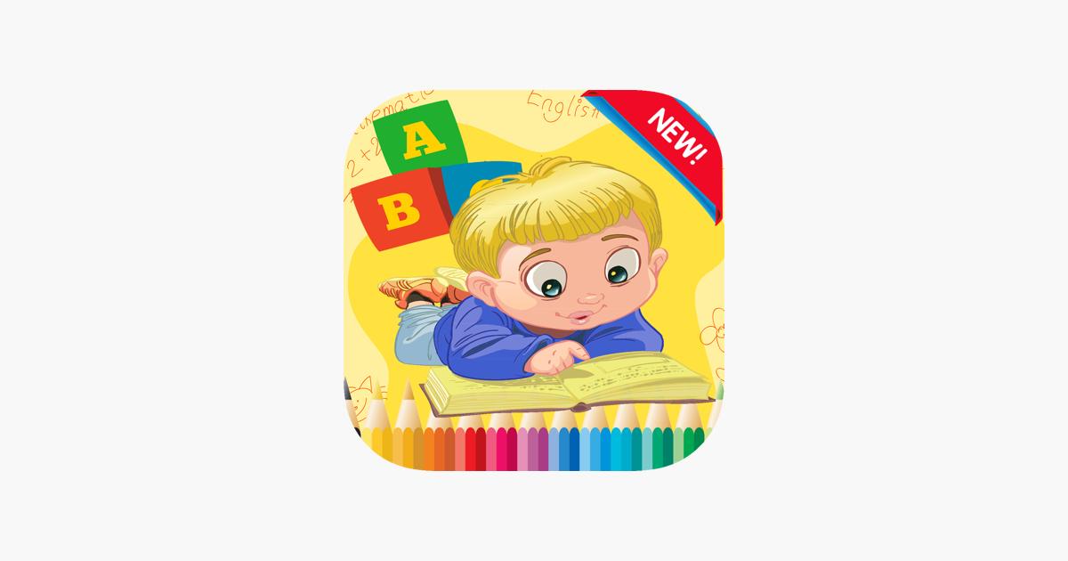 Von Punkt zu Punkt Letters Alphabet Malbuch im App Store