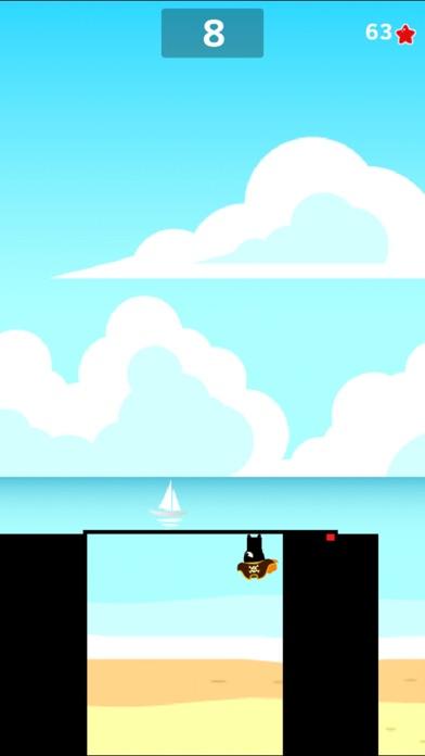 Super Stick Man Run 2-Ninja  jump fruit hero free game screenshot three