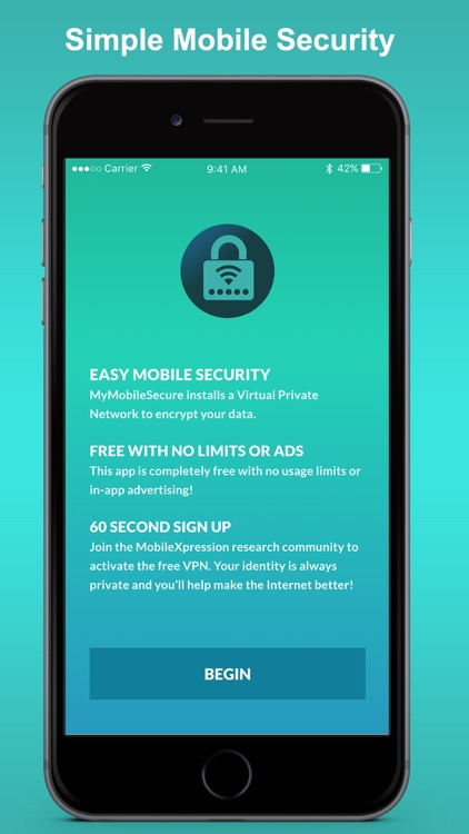 MyMobileSecure – Unlimited VPN Proxy