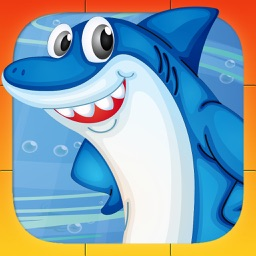 Animals Games for kids and toddlers: Sea Puzzles