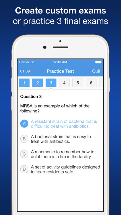 CNA Smart Exam Prep - Practice Test & Study screenshot-1