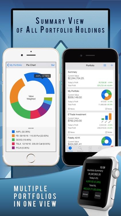 Active Portfolio: stock market tracker and alerts