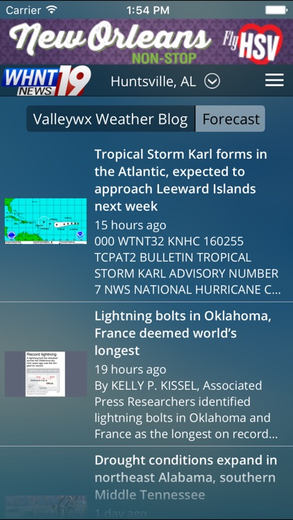 Live Alert 19 - Huntsville AL Weather screenshot-4