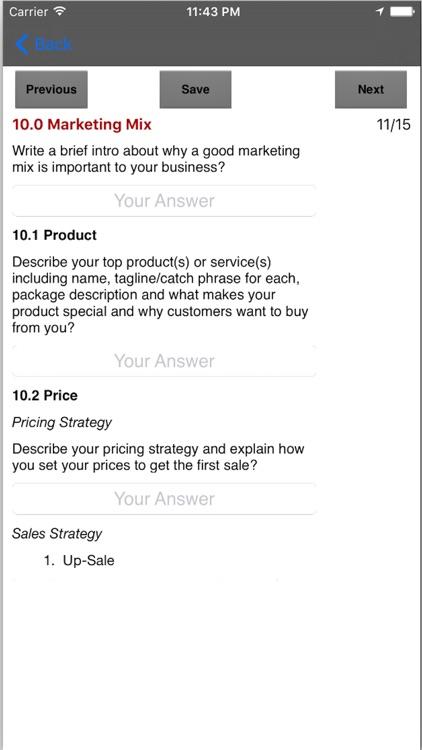 Marketing Plan App screenshot-3