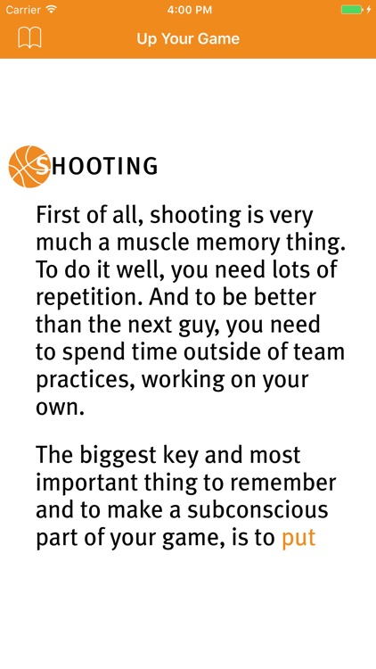 UP YOUR GAME Basketball tips & skills screenshot-3