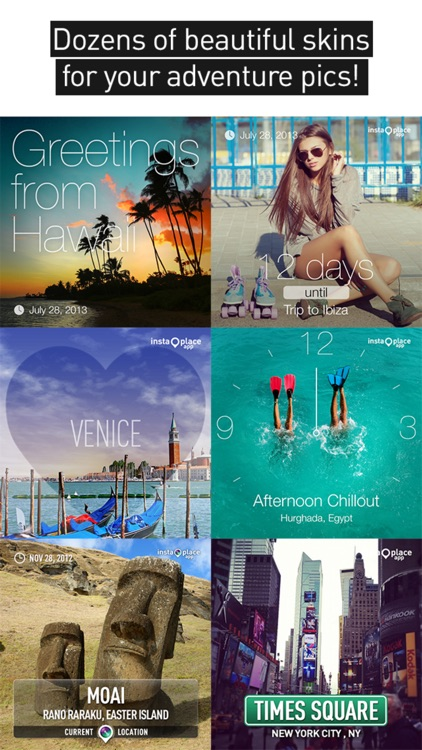 InstaPlace : beautiful photo checkins & postcards screenshot-4