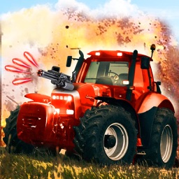 Tractor Offroad Gunner - Top Free 3D Racing Game