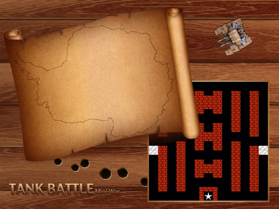 Tank Battle - Mini War на iPad