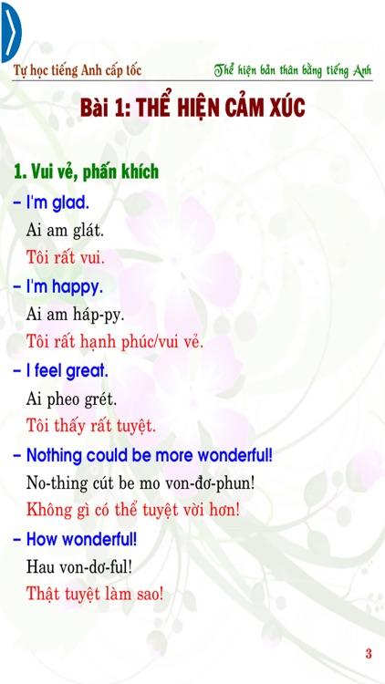 Tự học tiếng Anh cấp tốc Express my English skills