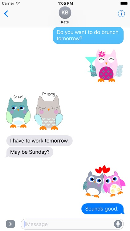 Owl World Stickers screenshot-3