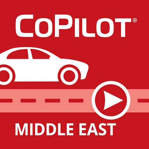CoPilot Middle East / GCC - Offline GPS Navigation
