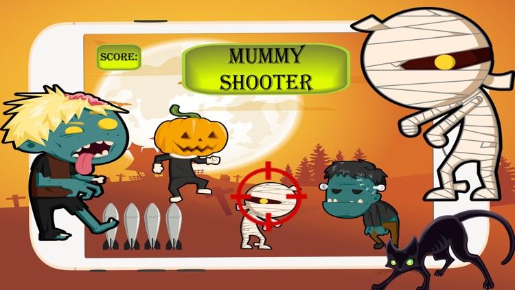 Killer Mummy Halloween:Shooting Fun Game For Kids