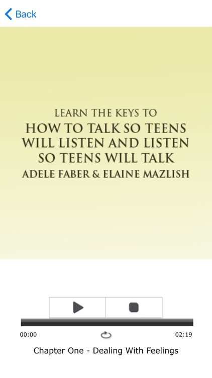 How To Talk So Teens Will Listen Summary Audiobook screenshot-3