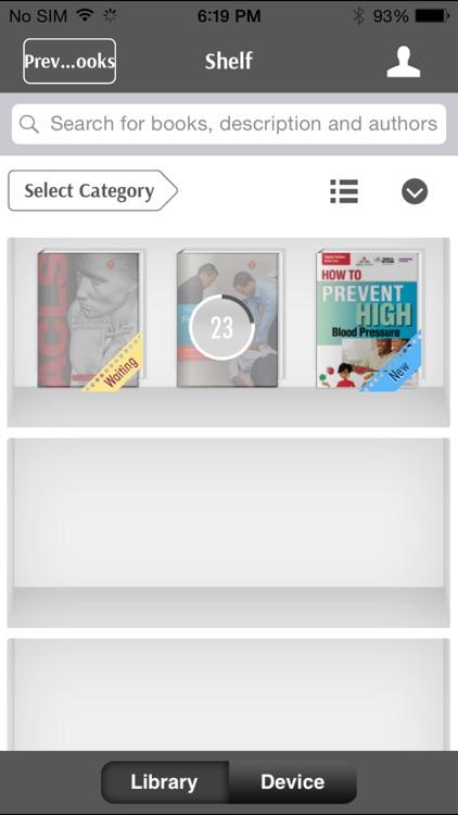 AHA eBook Reader screenshot-4