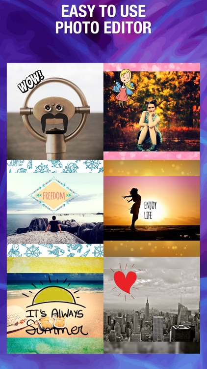 Cute Pic Lab Photo Editor Add cool stickers & text screenshot-0