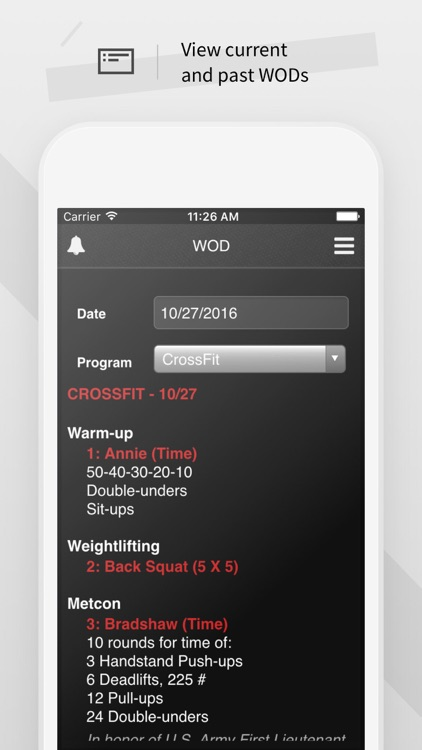 Wodify screenshot-1