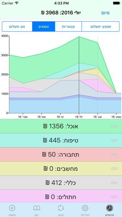 הוצאות Screenshot 4